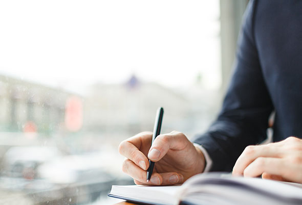 tax support cpa firms suite man writing