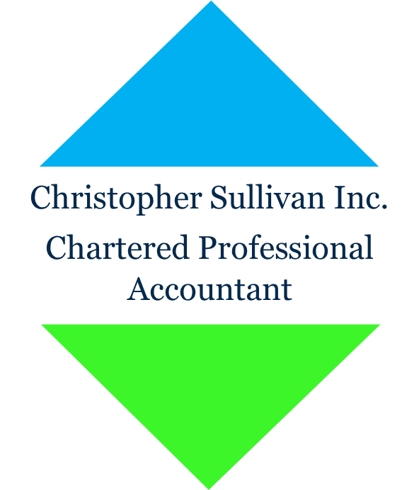 christopher sullivan inc. chartered professional accountant logo black